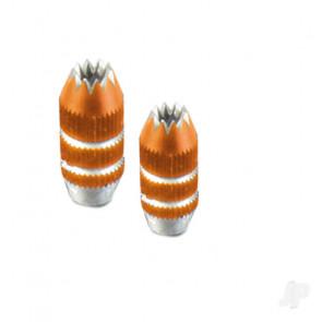Multiplex Stick Units Orange Aluminium 2 pcs SMART SX 75306