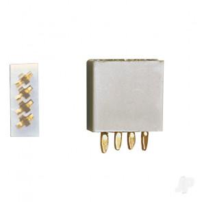 Multiplex 4-Pin socket, 5pcs (MPX)