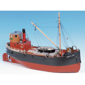 Caldercraft North Light Clyde Puffer Steam Coaster Kit 1:32 Scale