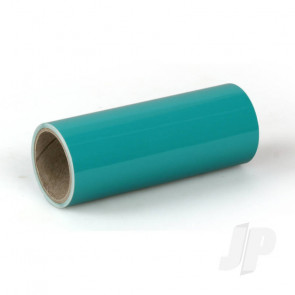 Oracover Oratrim Roll Turquoise (#17) 9.5cmx2m  Self-Adhesive Covering for RC Model Aircraft