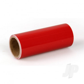 Oracover Oratrim Roll Ferrari Red (#23) 9.5cmx2m  Self-Adhesive Covering for RC Model Aircraft