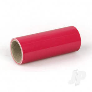 Oracover Oratrim Roll Pink (#24) 9.5cmx2m  Self-Adhesive Covering for RC Model Aircraft