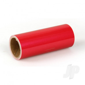 Oracover Oratrim Roll Pearl Red (#27) 9.5cmx2m  Self-Adhesive Covering for RC Model Aircraft