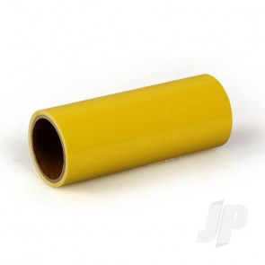 Oracover Oratrim Roll Cadmium Yellow (#33) 9.5cmx2m  Self-Adhesive Covering for RC Model Aircraft