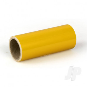 Oracover Oratrim Roll Pearl Golden Yellow (37) 9.5cmx2m  Self-Adhesive Covering for RC Model Aircraft