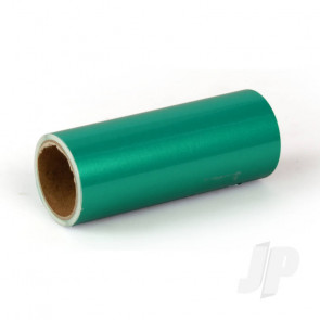 Oracover Oratrim Roll Pearl Green (#47) 9.5cmx2m  Self-Adhesive Covering for RC Model Aircraft