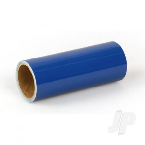 Oracover Oratrim Roll Blue (#50) 9.5cmx2m  Self-Adhesive Covering for RC Model Aircraft