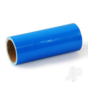 Oracover Oratrim Roll Fluorescent Blue (#51) 9.5cmx2m  Self-Adhesive Covering for RC Model Aircraft