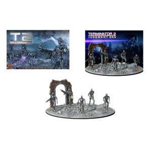 Terminator 2 T-800 Endoskeletons & Diorama 1:32 Pegasus Hobbies Plastic Kit 9017