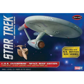 Star Trek USS Enterprise Space Seed Edition 1:1000 Scale Polar Lights Kit