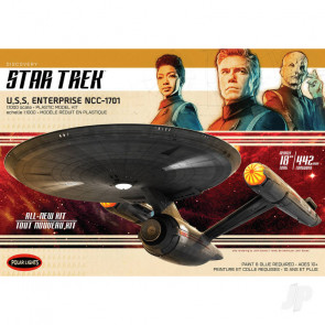 Polar Lights 1:1000 Star Trek Discovery USS. Enterprise Plastic Kit