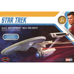 Polar Lights 1:1000 Star Trek USS Enterprise - Wrath of Khan Plastic Model Kit