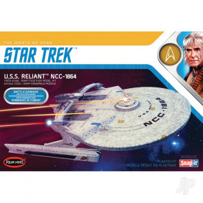 Polar Lights Star Trek U.S.S. Enterprise Reliant Wrath of Khan Edition Plastic Kit