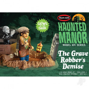 Polar Lights Haunted Manor: The Grave Robber's Demise Plastic Kit