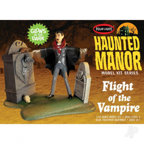 Polar Lights Haunted Manor: Flight of the Vampire Plastic Kit