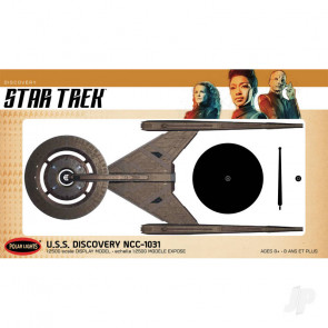 Polar Lights Star Trek Discovery U.S.S. Discovery Prebuilt Display Model 2T Plastic Kit