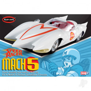 Polar Lights Speed Racer Mach V (Snap) Plastic Kit