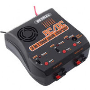 Prolux AC/DC 3IN1 TX/RX/GLOW Field Peak Charger