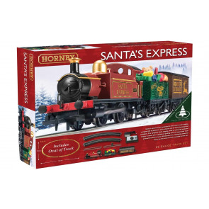 Hornby Santa's Express Christmas Train Set  - Packed with Presents!