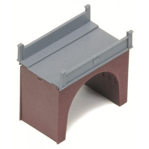 Hornby Accessories R189 Brick Single-Arch Viaduct Bridge - 00 Gauge Model Trains