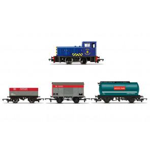 Diesel Freight Train Pack - Locomotive & Wagons - Hornby Model Train Railway 00