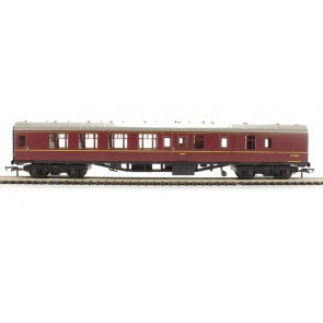 Hornby RailRoad - R4352 BR Mk1 Corridor Brake Second - Maroon 00 Gauge