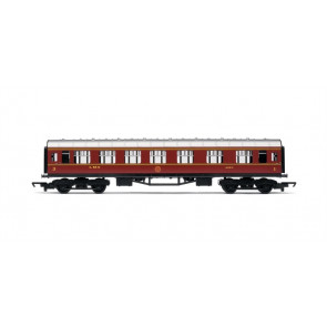 Hornby Train - R4388 RailRoad LMS Composite Coach 00 Gauge