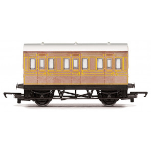 LNER 4 Wheel Coach 00 Gauge RailRoad Hornby Train R4674