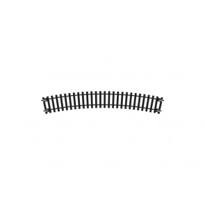 Hornby Track - R608 Single Curve 3rd Radius Track