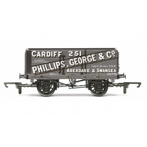 7 Plank Wagon 'Phillips, George & Co' - R6813 Hornby 00 Gauge