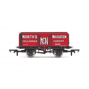 7 Plank Wagon, 'North's Navigation' No. 3000 - Era 2 - Hornby 00 Gauge