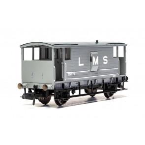 LMS, D1919 20T Brake Van, 730473 Era 3 - Hornby 00 Gauge