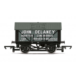 John Delaney, 8T Lime Wagon, No. 130 - Era 2/3 - Hornby Model Train 00 Gauge