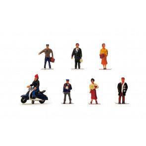 1:76 Scale City People - Hornby Train Track Accessories 00 Gauge