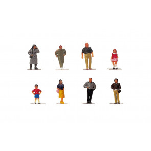 1:76 Scale Town People - Hornby Train Track Accessories 00 Gauge
