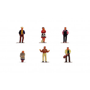 1:76 Scale Farm People - Hornby Train Track Accessories 00 Gauge
