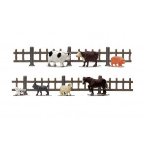 1:76 Scale Farm Animals - Hornby Train Track Accessories 00 Gauge