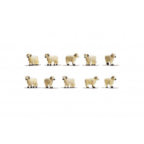 1:76 Scale Sheep Farm Animals - Hornby Train Track Accessories 00 Gauge