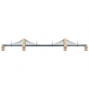 Hornby Accessories R8008 Grand Suspension Bridge Kit - 00 Gauge Model Trains