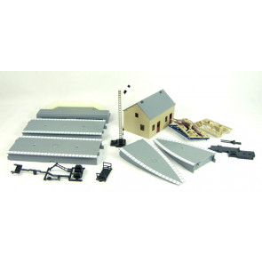 Hornby R8227 TrakMat Accessories Pack 1 - Station Platform - 00 Gauge Trains