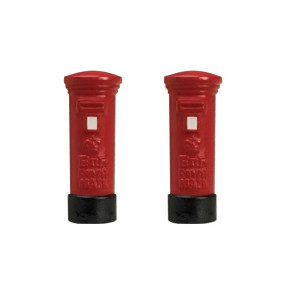 Hornby Accessories - R8579 Skaledale Red Pillar Box - Pack of 2