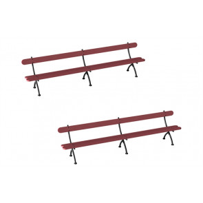 Railway Station Benches (2) R8674 - Hornby Train Accessories 00 Gauge