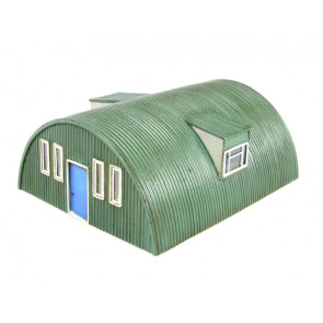 Corrugated Nissen Hut R8788 - Hornby Train Accessories 00 Gauge