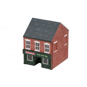 The Greengrocer's Shop  - Hornby Trains Skaledale Buildings 00 Gauge