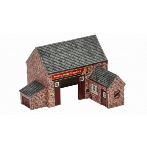 The Village Country Garage R9855 - Hornby Skaledale Buildings 00 Gauge