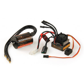 Radient Reaktor Brushless 3500KV Electric Motor and ESC Combo Upgrade
