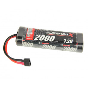 Superpax 6 Cell SC 2000mAh 7.2V NiMH Battery Pack Deans T-style Plug