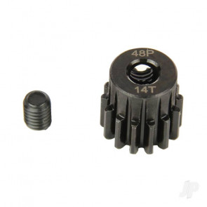 Radient Pinion Gear, 48P, Steel 14T