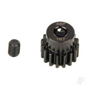 Radient Pinion Gear, 48P, Steel 16T