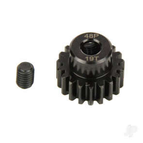 Radient Pinion Gear, 48P, Steel 19T